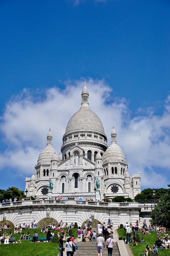 coeur Παρίσι sacre στοκ εικόνα με δικαίωμα ελεύθερης χρήσης
