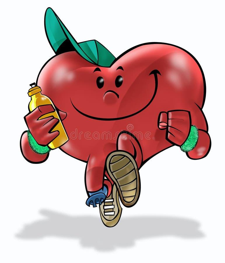 Coeur 02 de santé illustration stock