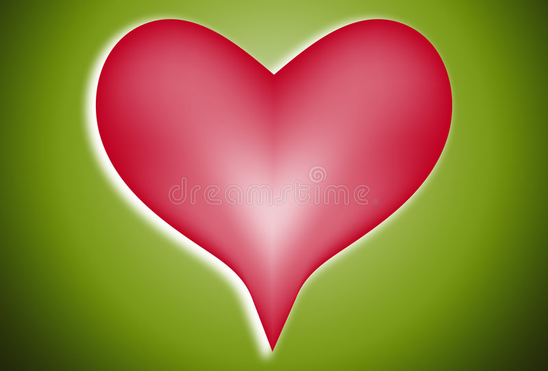 Coeur 101 d'amour illustration libre de droits