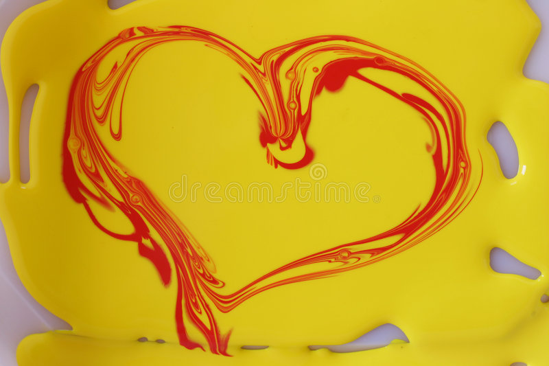 Coeur photo stock