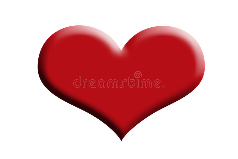 Coeur. Image stock