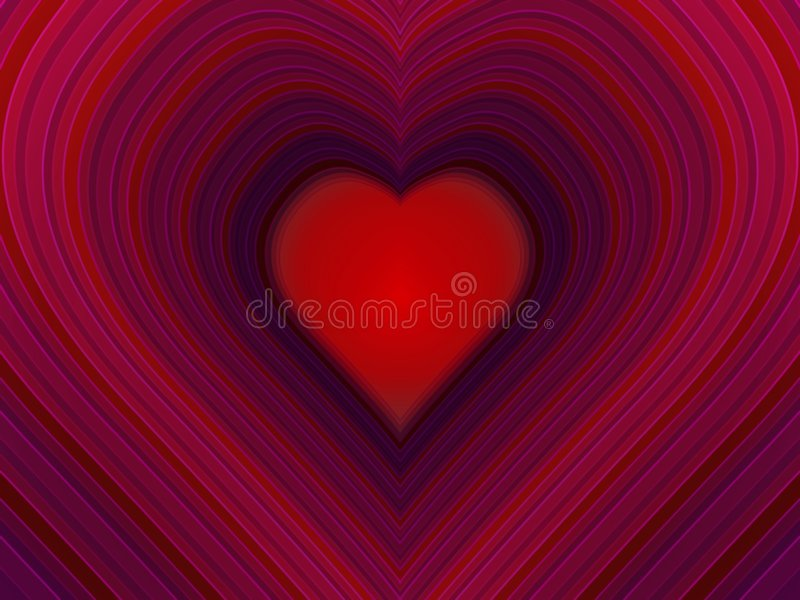 Coeur illustration stock