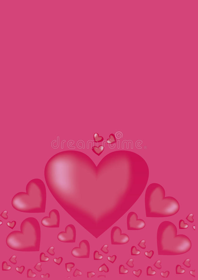 Coeur () photo stock