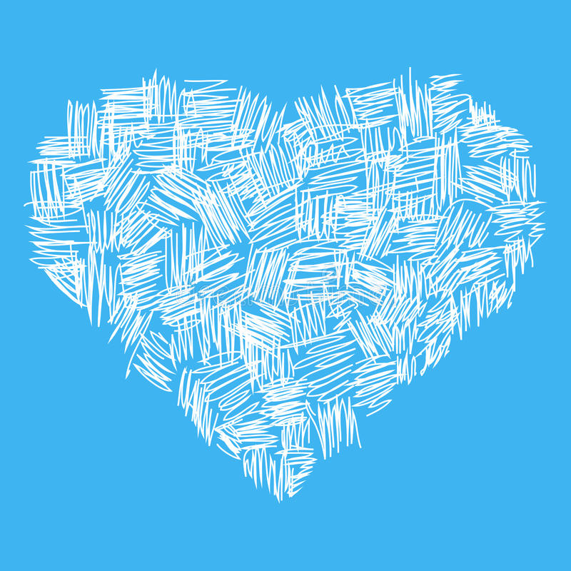 Coeur abstrait illustration de vecteur