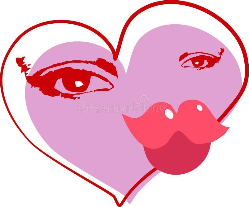 Download Coeur abstrait illustration de vecteur. Illustration du vacances - 55513