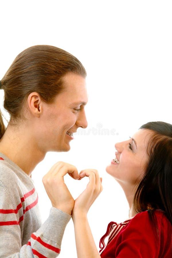 Coeur amoureux photo stock image du expression humain - Coeurs amoureux ...