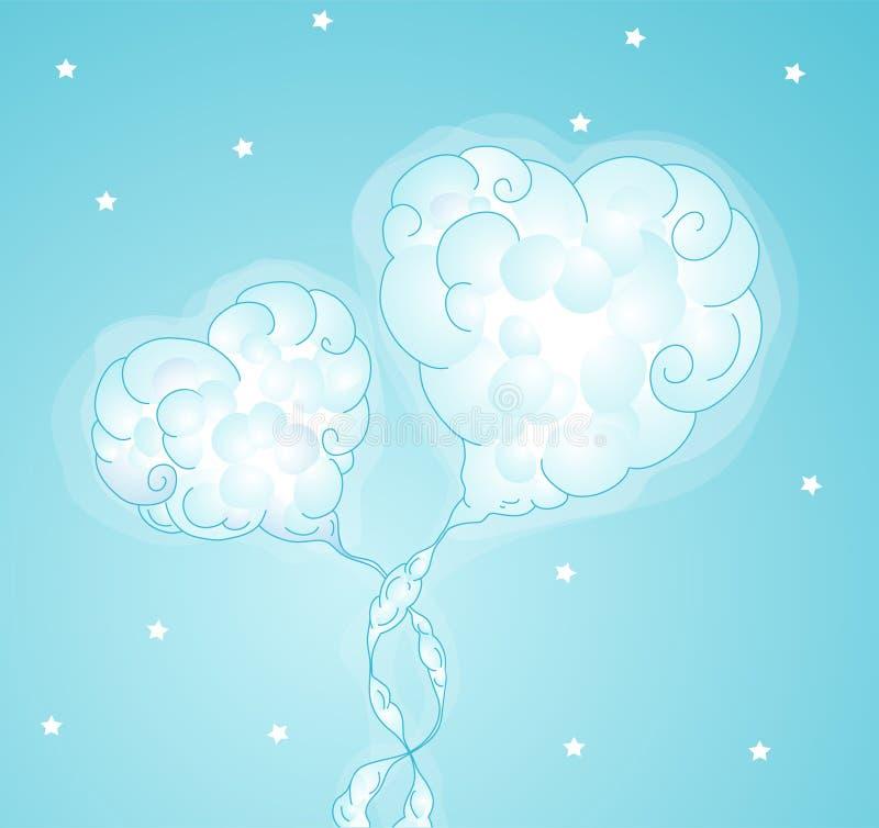 Coeur amoureux illustration de vecteur illustration du - Coeurs amoureux ...