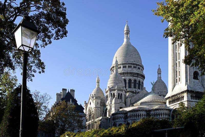 coeur bazyliki sacr zdjęcie royalty free