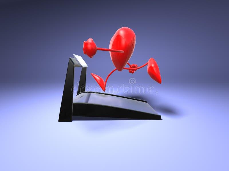 Coeur courant illustration de vecteur