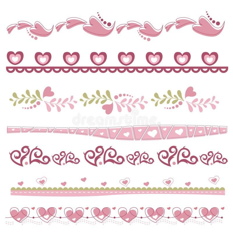 Coeur décoratif illustration stock