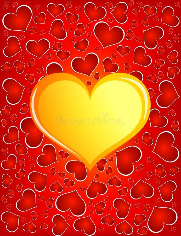 Coeur D Or Photos libres de droits