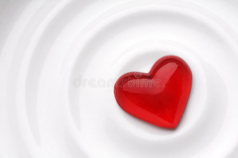 Coeur d'amour image stock
