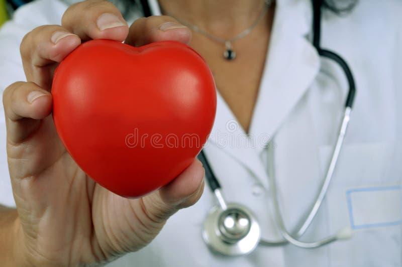 Coeur dans la main image libre de droits
