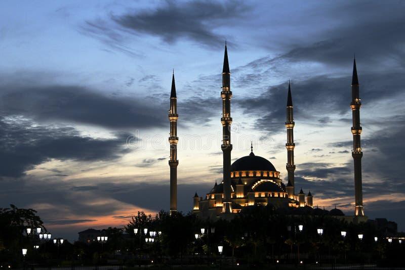 Coeur de Ðœosque du Chechenie photos libres de droits
