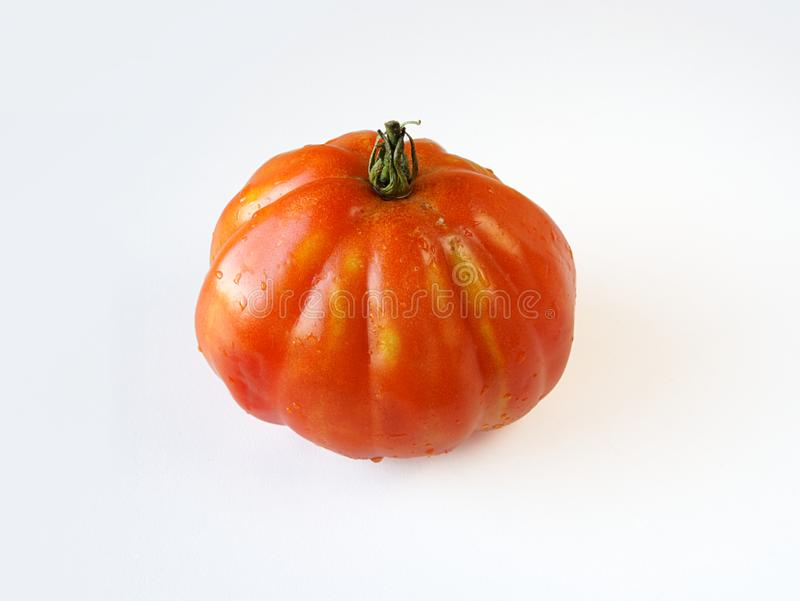 'Coeur de boeuf' tomato royalty free stock photo