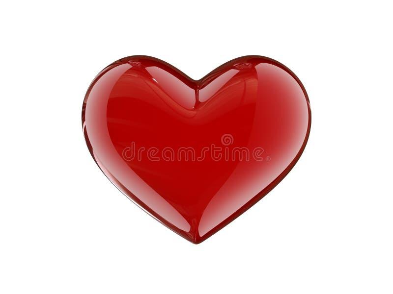 coeur de caramel illustration de vecteur