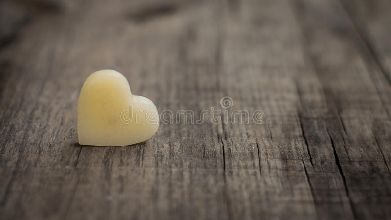 Coeur de cire images stock