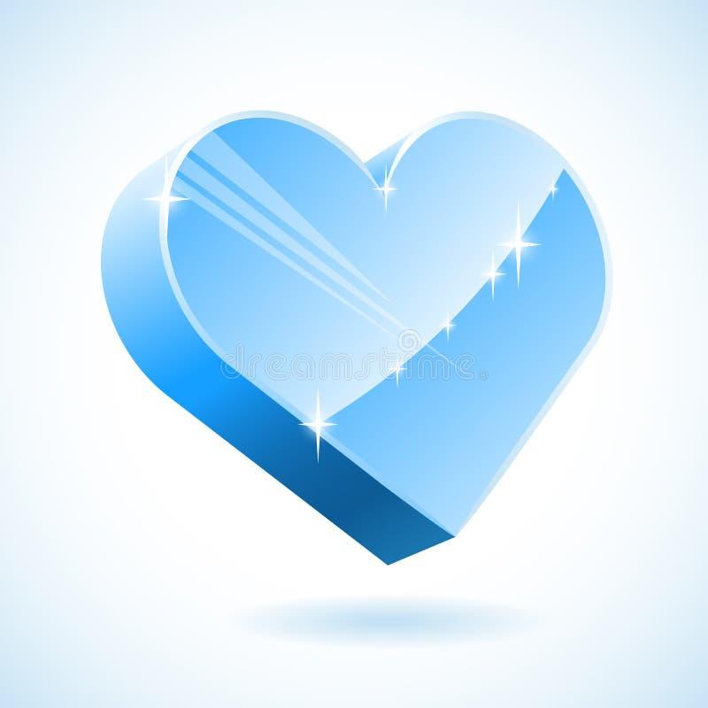 Coeur De Glace Image libre de droits