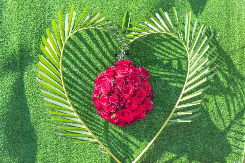 Coeur de jour de valentines photographie stock