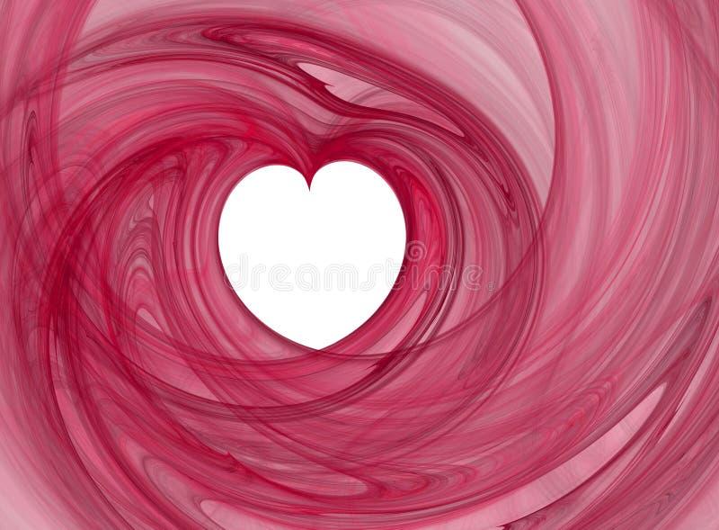 Coeur de l'amour illustration de vecteur