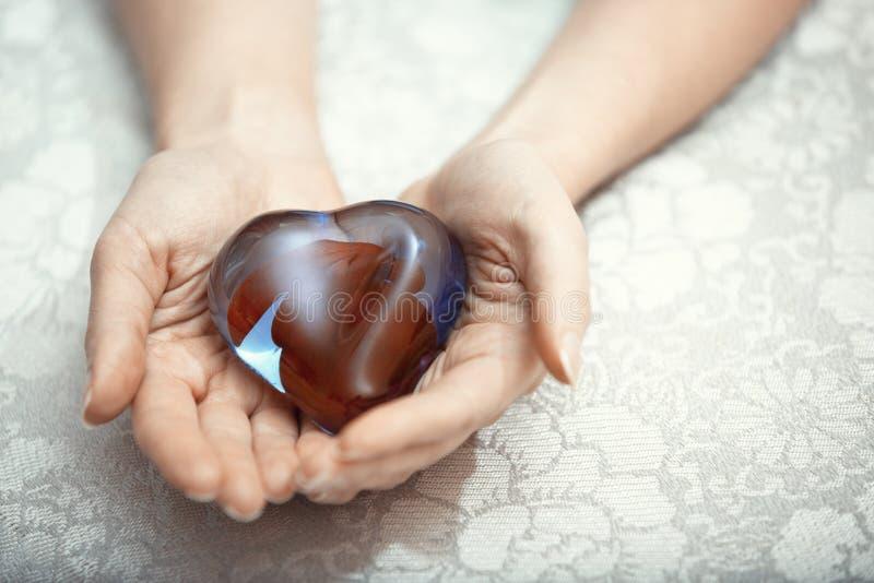 Coeur de l'amour photo stock