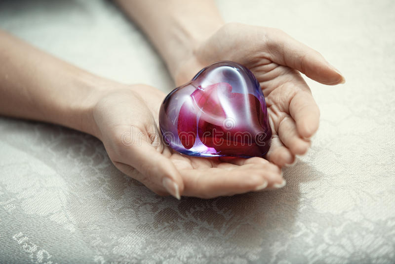 Coeur de l'amour images stock