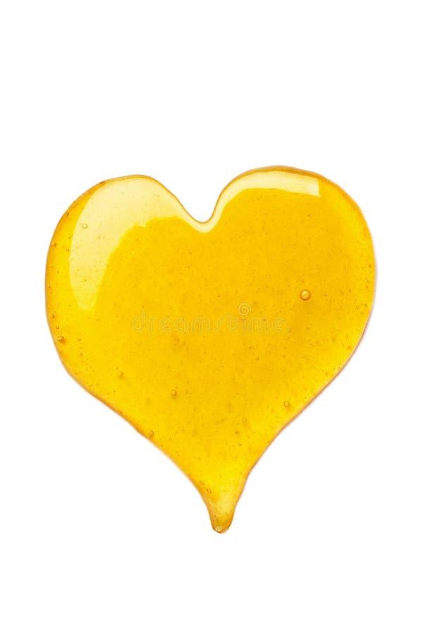 Coeur de miel images stock