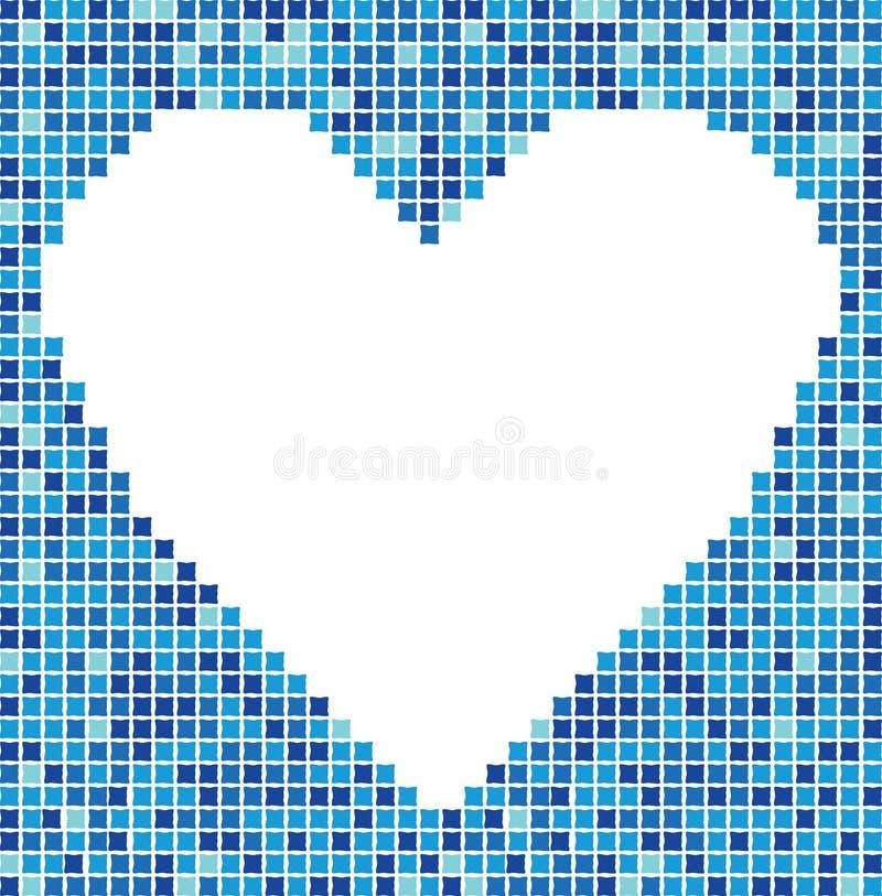 Coeur de mosaïque illustration libre de droits