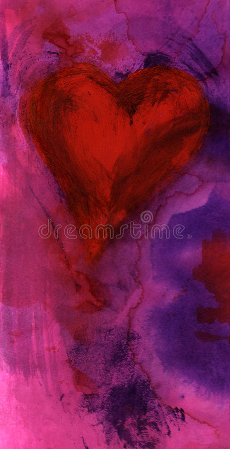 Coeur de passion illustration stock