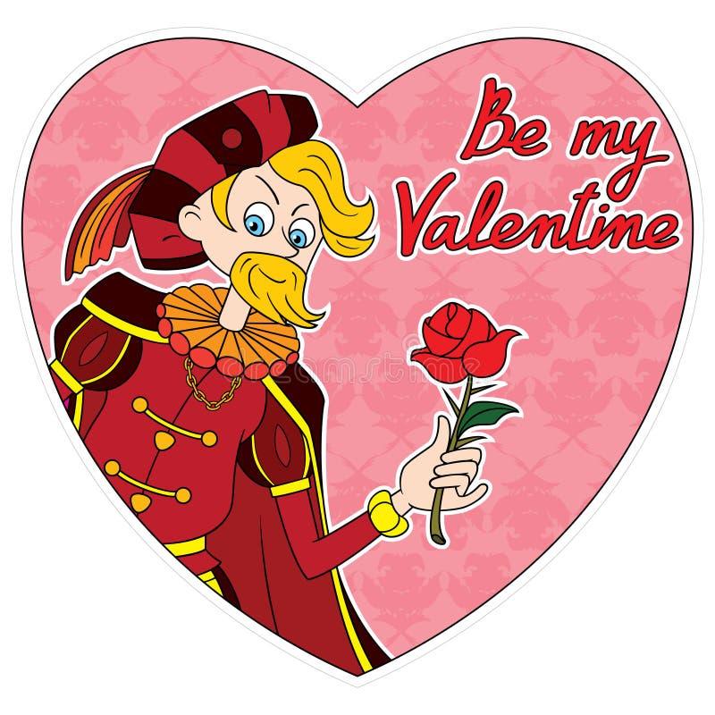 Coeur de Romeo Valentine illustration libre de droits