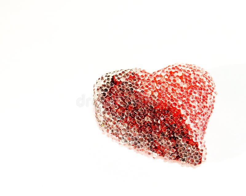 Coeur de rue-Valentine photo libre de droits