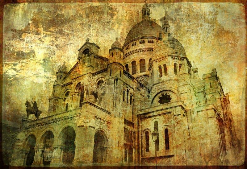 Coeur de Sacre ilustração do vetor