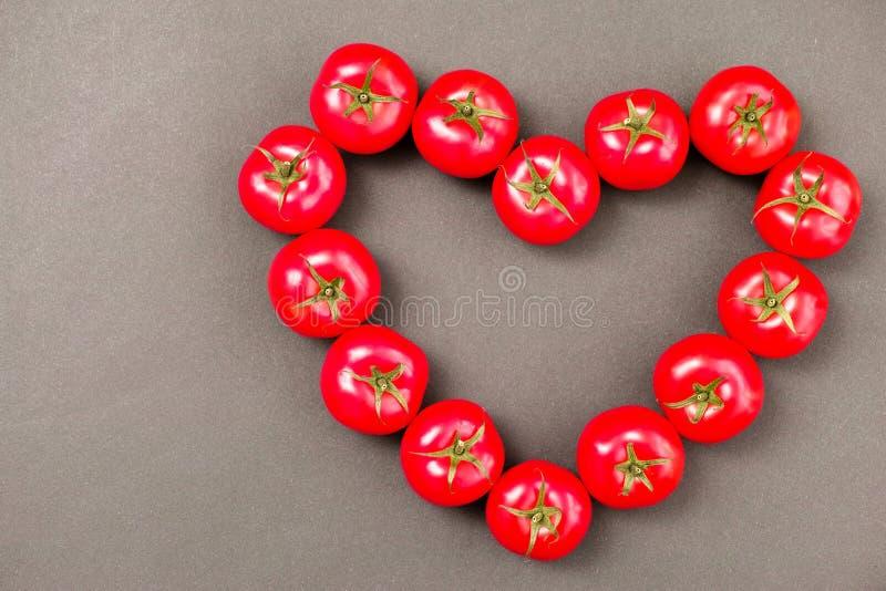 Coeur de tomate photo libre de droits