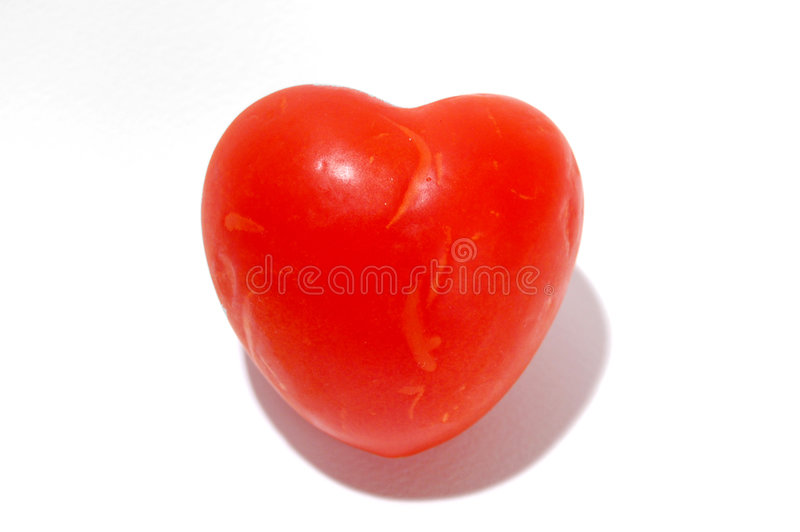 Coeur de tomate images stock