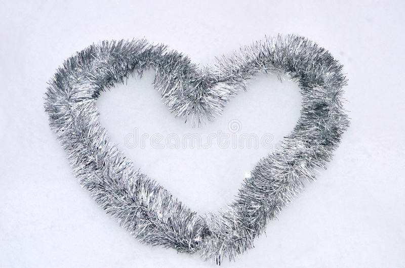 Coeur de tresse photo libre de droits