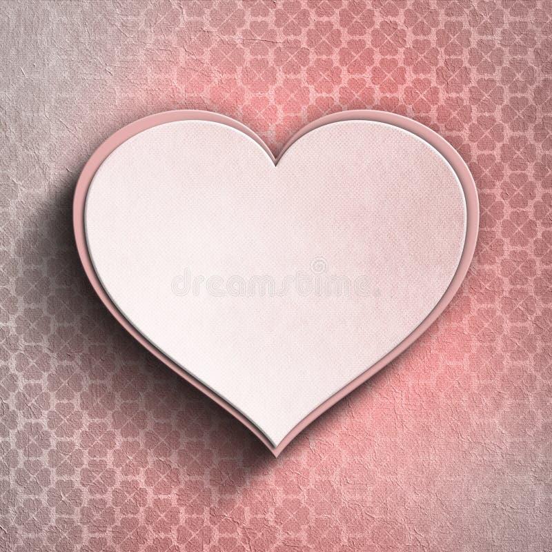 Coeur de Valentine illustration de vecteur