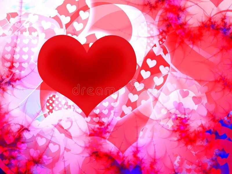 Coeur de Valentine illustration libre de droits