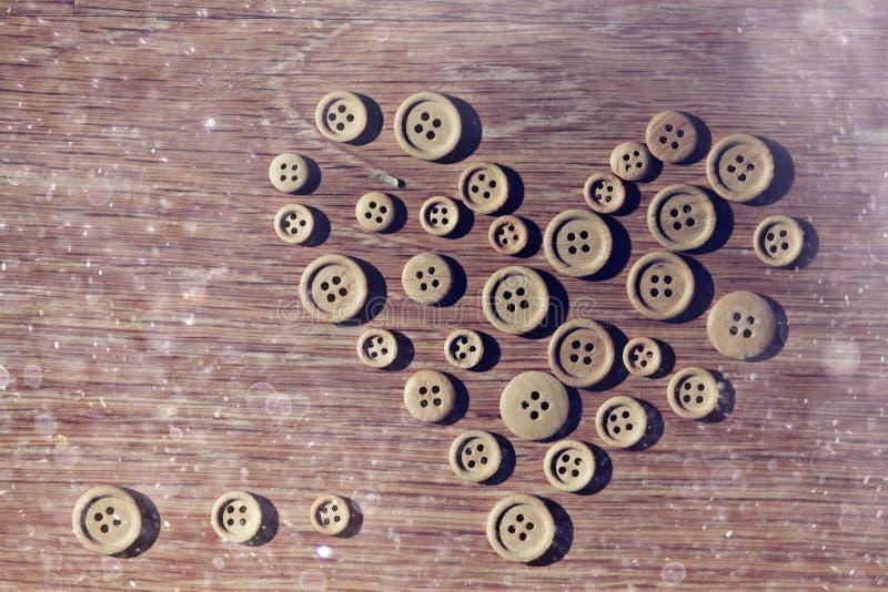Coeur de Valentine des boutons photos libres de droits