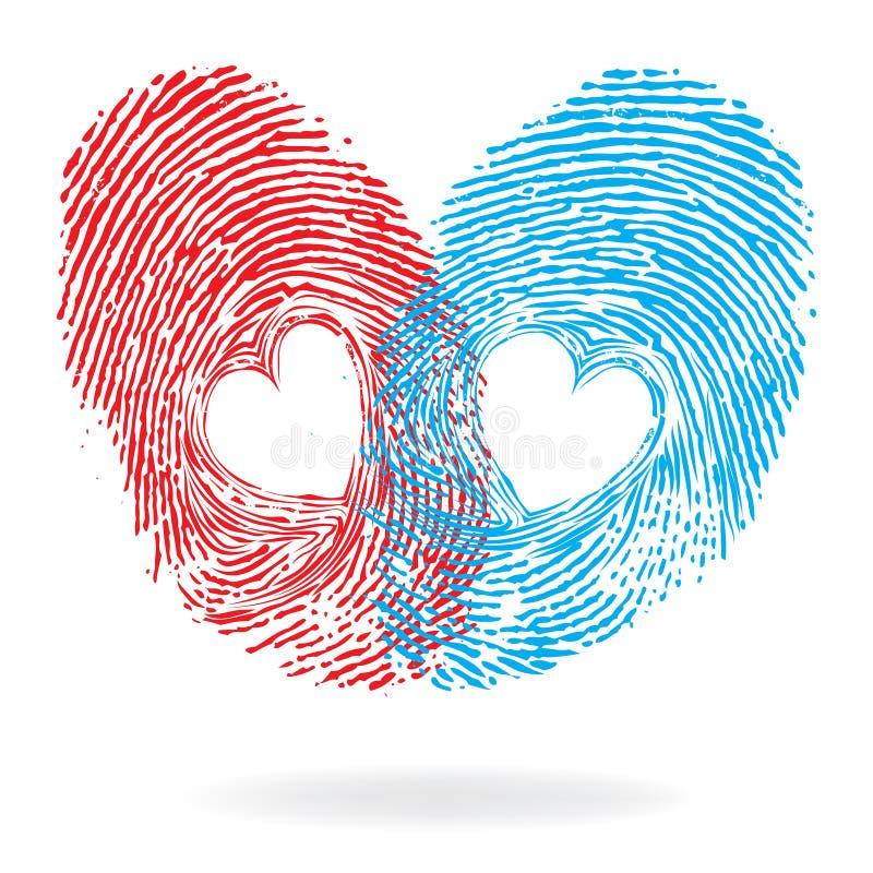 Coeur de vecteur illustration stock
