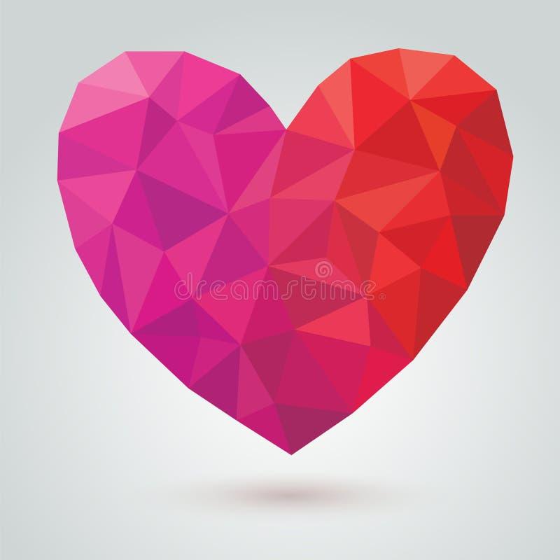 Coeur de vecteur illustration de vecteur
