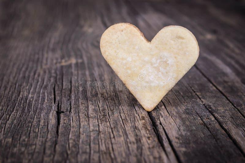 Coeur des biscuits image stock