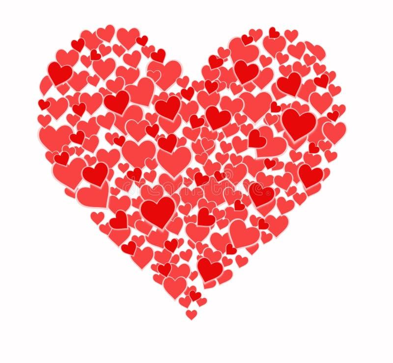 Coeur des coeurs illustration libre de droits