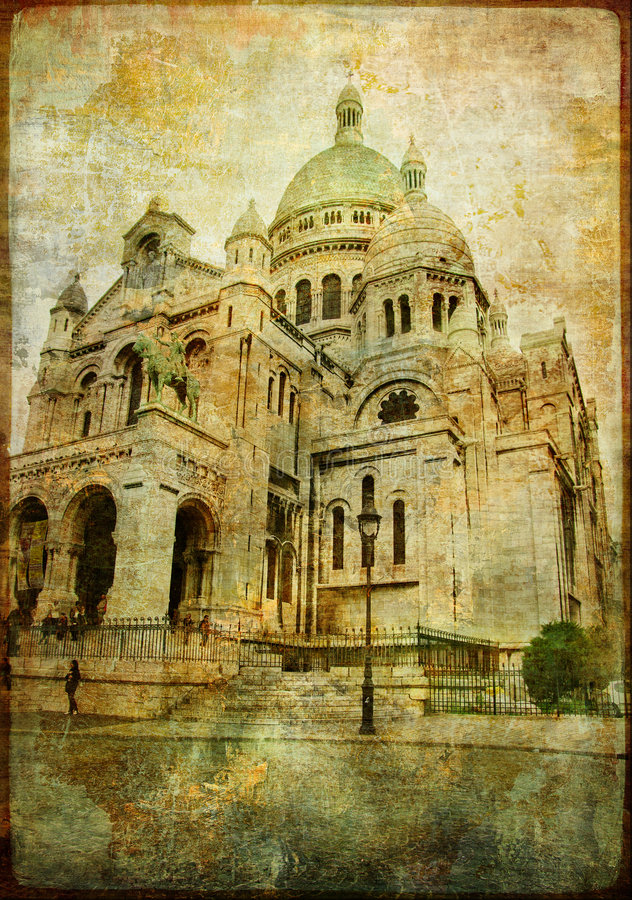 Coeur di Sacre immagini stock