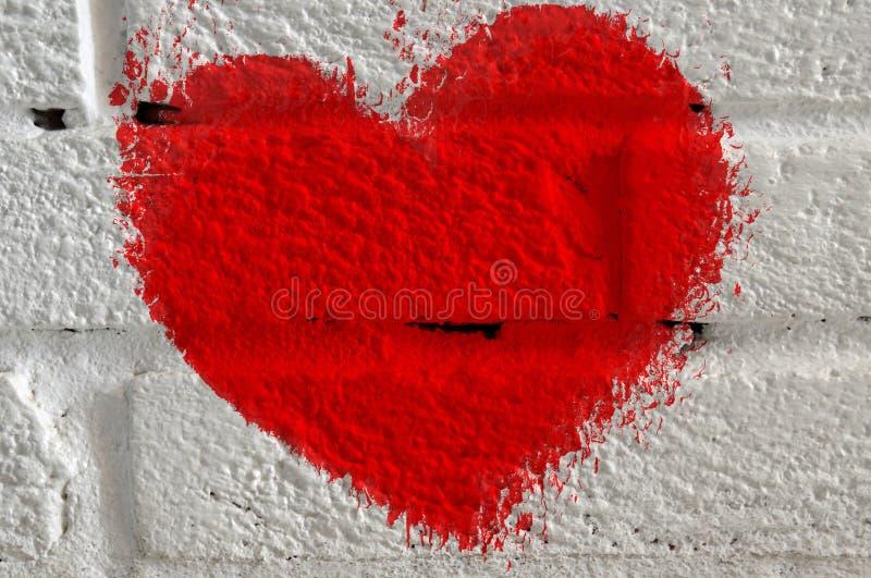 Coeur emietté photos libres de droits