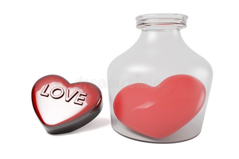 Download Coeur Et Bouteille De Jour Du ` S De Valentine Illustration Stock - Illustration du bouteille, soin: 87705091