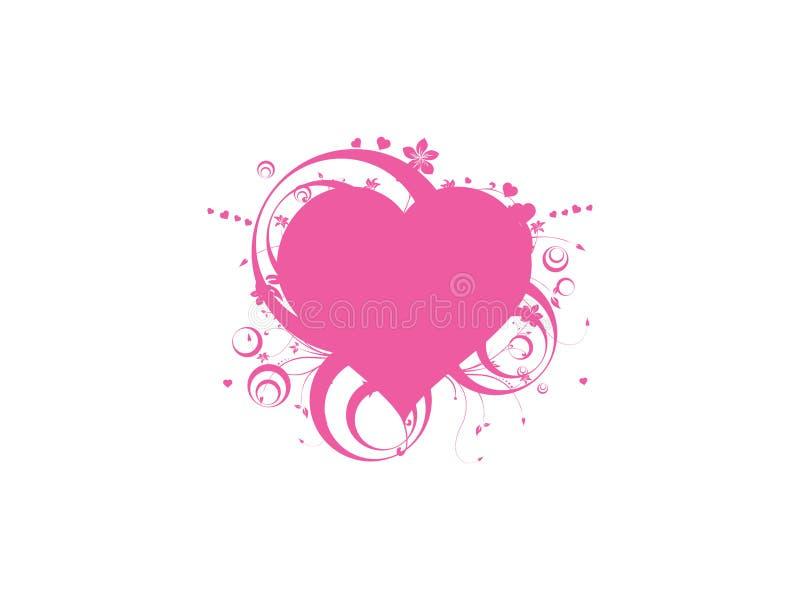 Coeur gothique illustration libre de droits