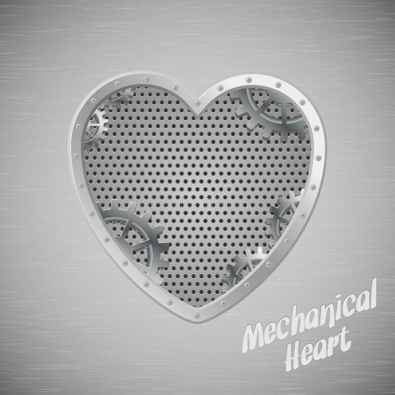 Coeur mécanique illustration stock