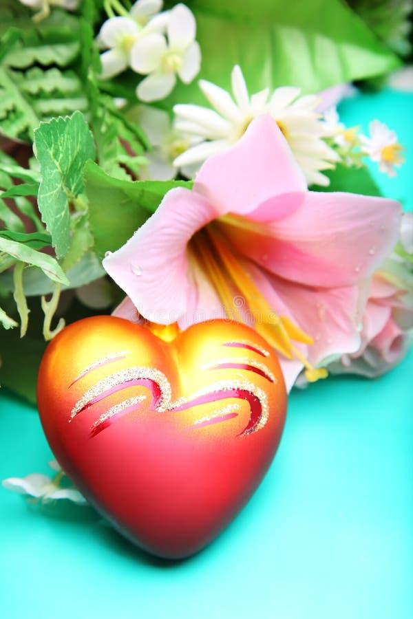 Coeur pour le jour de Valentine images stock