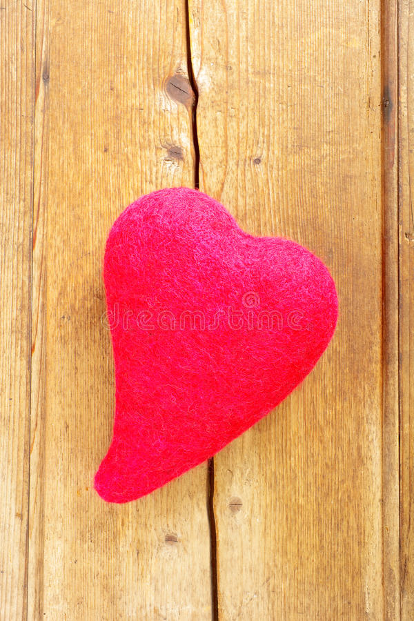 Coeur rouge photo stock