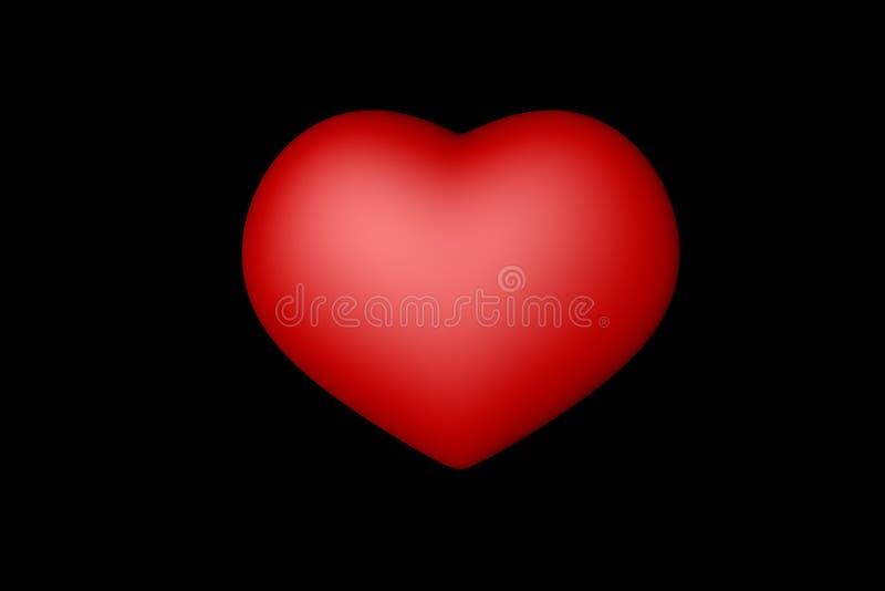 Coeur rouge photos stock